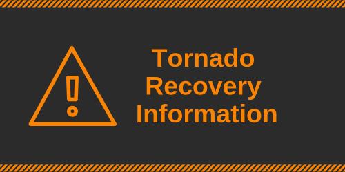 Tornado Recovery Information