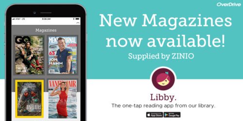 Zinio (RB Digital Magazines) have moved to Bridges/Libby.
